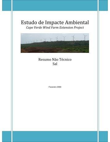 Estudo de Impacte Ambiental - MIGA
