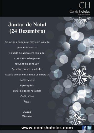 Jantar de Natal (24 Dezembro)