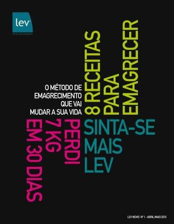 NEWS 1ª edição com a revista HAPPY de - lev