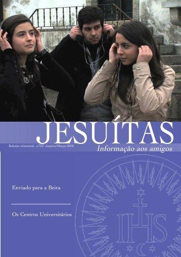 JanMar 2010 - Jesuítas em Portugal