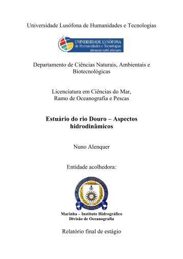 Estuário do rio Douro – Aspectos hidrodinâmicos - Instituto ...