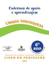 Cadernos de apoio e aprendizagem - Secretaria Municipal de ...