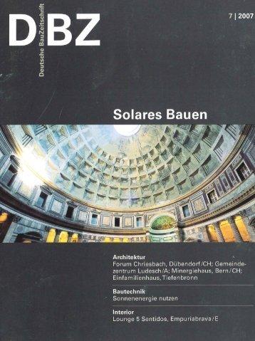 7 | 2007 - Halle 58 Architekten