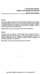 A cultura das culturas: Mytho e Antropologia da ... - marculus.net