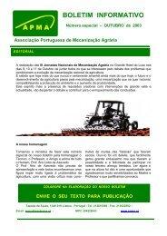 Boletim Informativo APMA especial - Associação Portuguesa de ...