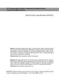 O Trio para piano, violino e violoncelo de Maurice Ravel a ... - anppom