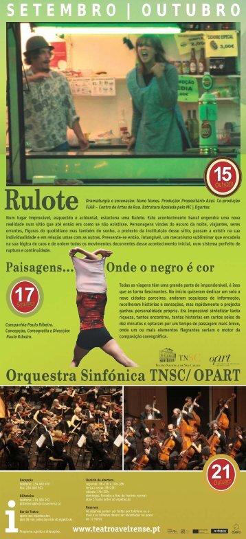 Rulote - Teatro Aveirense