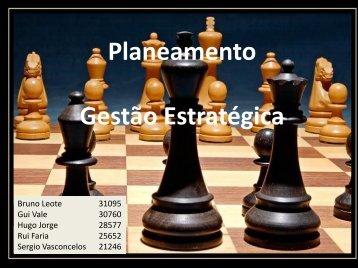 Planeamento Gestão Estratégica