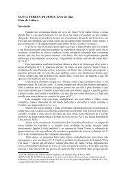 SANTA TERESA DE JESUS, Livro da vida Guia de Leitura