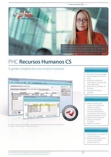 PHC Recursos Humanos CS - Logismarket