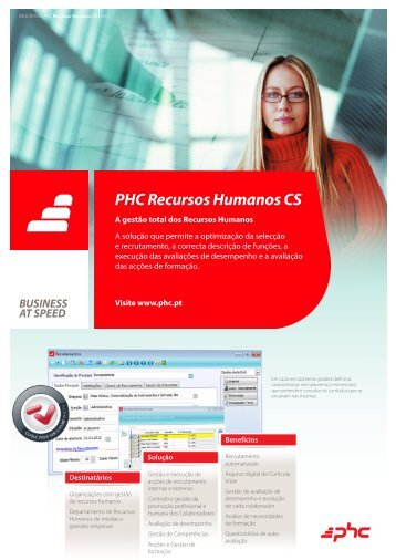 PHC Recursos Humanos CS