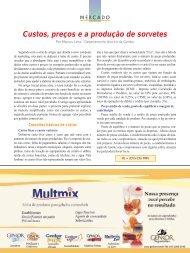 Custos, preços e a produção de sorvetes - Sorveteria Confeitaria ...