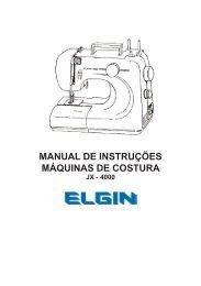 1 manual de instruções máquinas de costura - Colombo