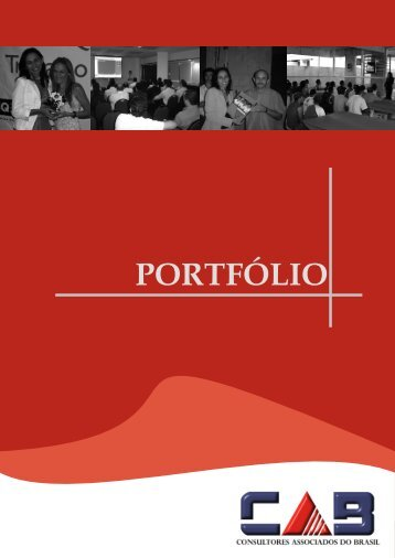 PORTFÓLIO - CAB - Consultores Associados do Brasil