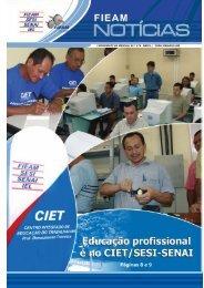 informativo mensal n.º 174 abril / 2006 manaus am - Sistema FIEAM