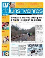 Comeza a marcha atrás para a fin da televisión analóxica - Galiciaé