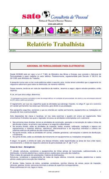 074 - Sato Consultoria de Pessoal