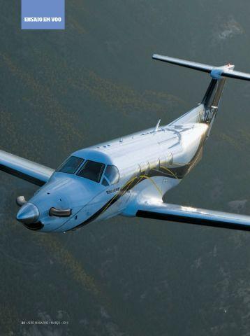 ENSAIO EM VOO - Pilatus Aircraft