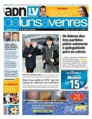 Os líderes dos tres partidos piden solvencia e ... - Galiciaé