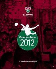 Balanço Anual 2012 - Fluminense Football Club