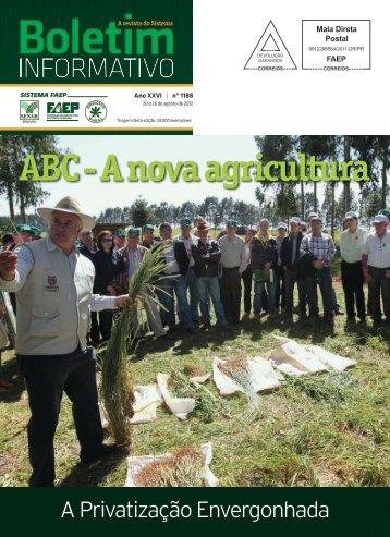 ABC - A nova agricultura - Faep