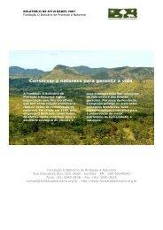 Conservar a natureza para garantir a vida - Agenda Sustentável