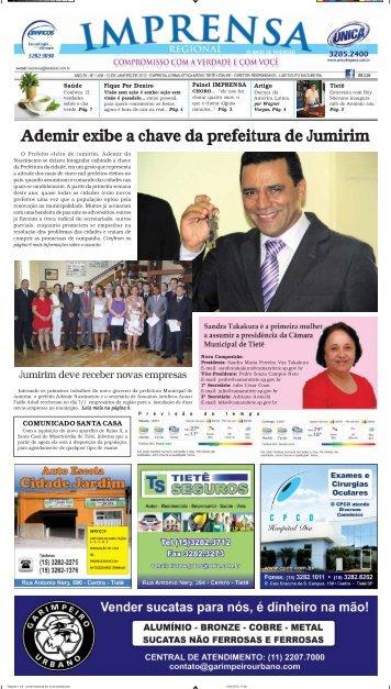Ademir exibe a chave da prefeitura de Jumirim - Jornal Imprensa