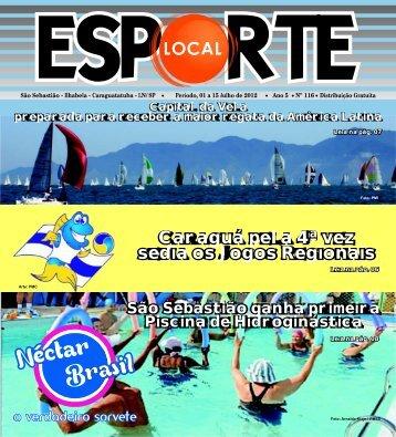 Esporte Local edição 116 - Jornal Esporte Local