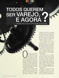 SEr varEjO, E aGOra? - Corporate Consulting