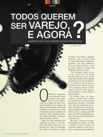 SEr varEjO, E aGOra? - Corporate Consulting