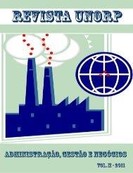 Administração, Gestão e Negócios - Vol.2 - 2011 - Unorp