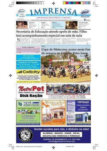 Copa de Motocross ocorre neste fim de semana ... - Jornal Imprensa
