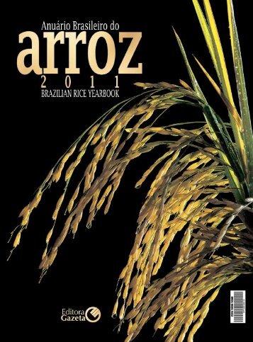 Anuário Brasileiro do Arroz 2011 - Unemat
