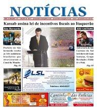 Kassab assina lei de incentivos fiscais ao Itaquerão - Jornal Notícias