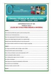 CÂMARA TÉCNICA DE GRÃOS/CEPA - Portal Conselhos MG