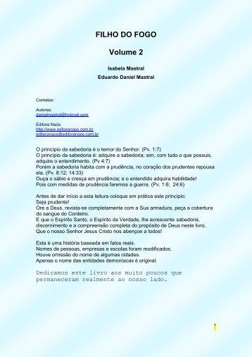 FILHO DO FOGO volume 1 - WordPress.com - Clamor da Universal