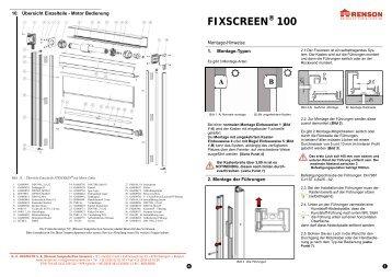 FIXSCREEN ® 100
