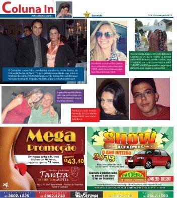 Coluna In - Jornal Estrondo