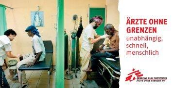 Ärzte ohne Grenzen - Drivve