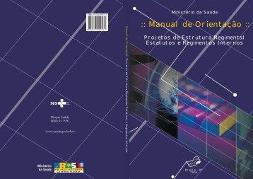 Manual de Orientação - BVS Ministério da Saúde