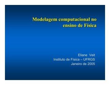 Apresentação em pdf - Instituto de Física - Ufrgs