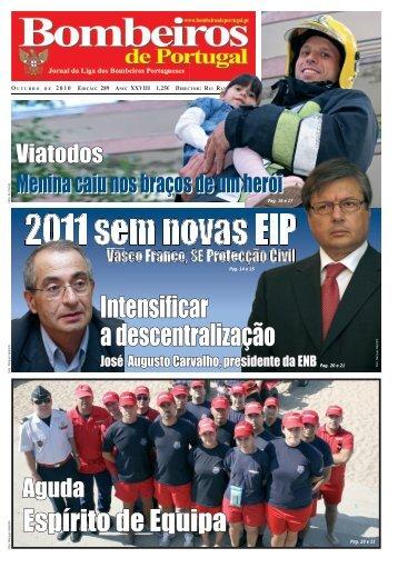Outubro - Jornal Bombeiros de Portugal