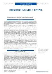 Obesidade infantil e juvenil - Acta Médica Portuguesa