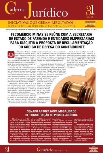 Julho - FECOMÉRCIO Minas.