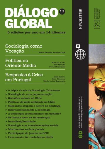 Sociologia e Transformações Sociais - International Sociological ...