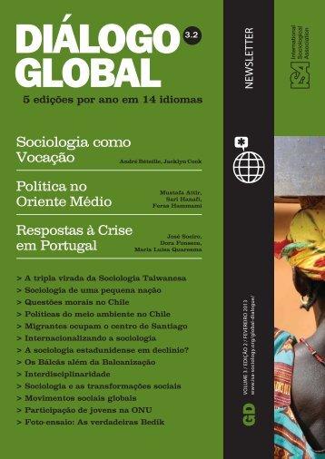 Sociologia e Transformações Sociais - International Sociological ...