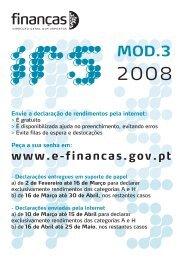 3 - Portal das Finanças