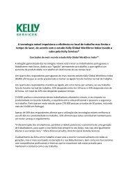 A tecnologia móvel impulsiona a eficiência no local ... - Kelly Services