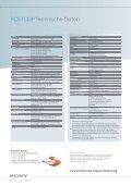 PCS-TL33P Leistungsmerkmale - Vidofon - Seite 6