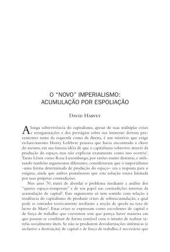 "O ""novo"" imperialismo - CLACSO"